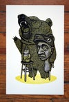 ROBERTO  | Hand Pulled Relief Print