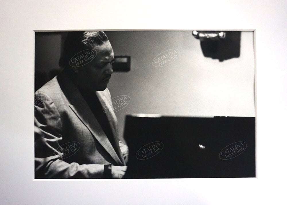 Image of McCOY TYNER @ Catalina Jazz Club, Hollywood (B&W, circa 1980's) | Limited Edition Photography