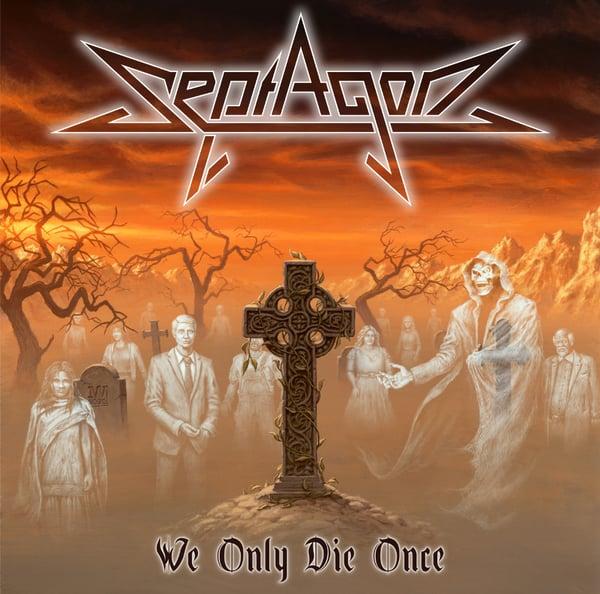 "Image of ""We Only Die Once"" CD"
