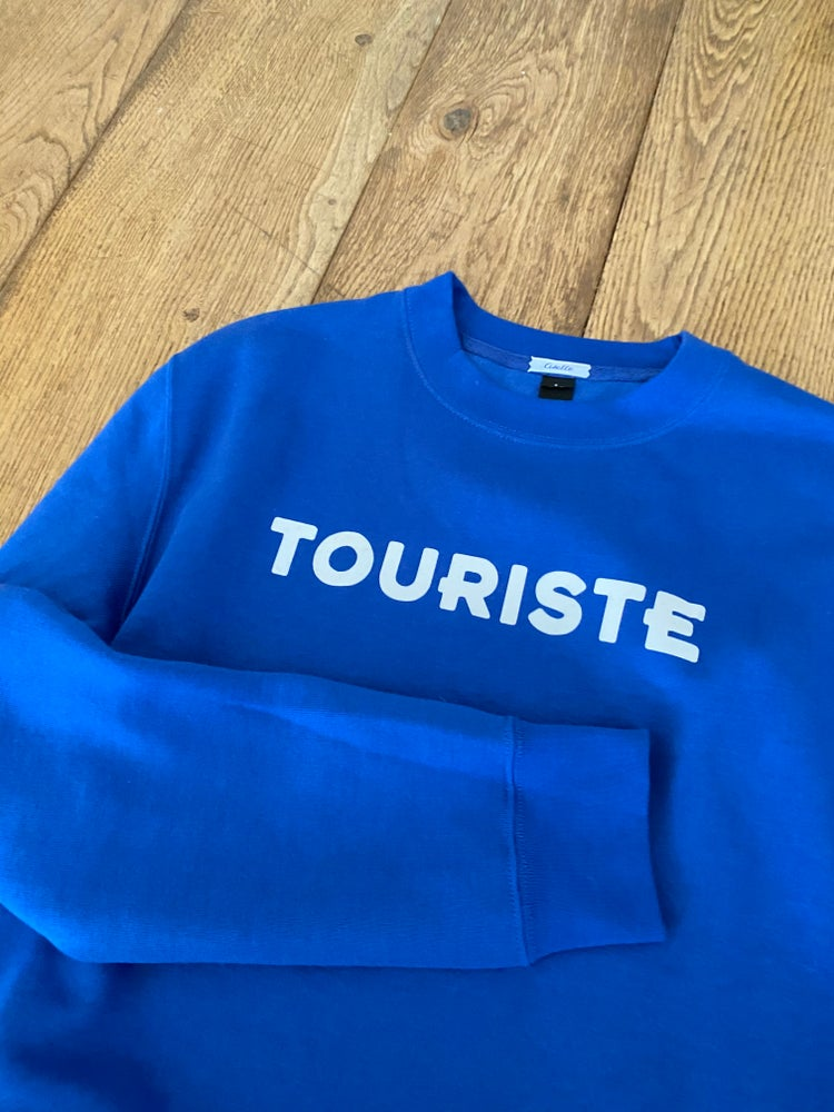 Image of Sweat Bleu Roi TOURISTE