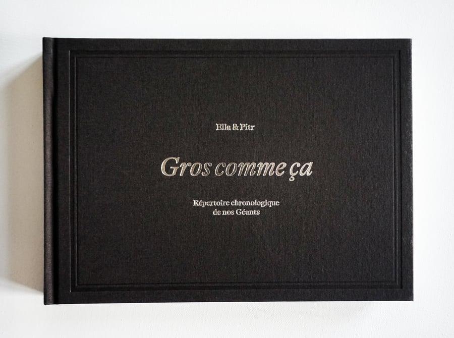 """Image of Le nouveau livre  """" GROS COMME ÇA """""""