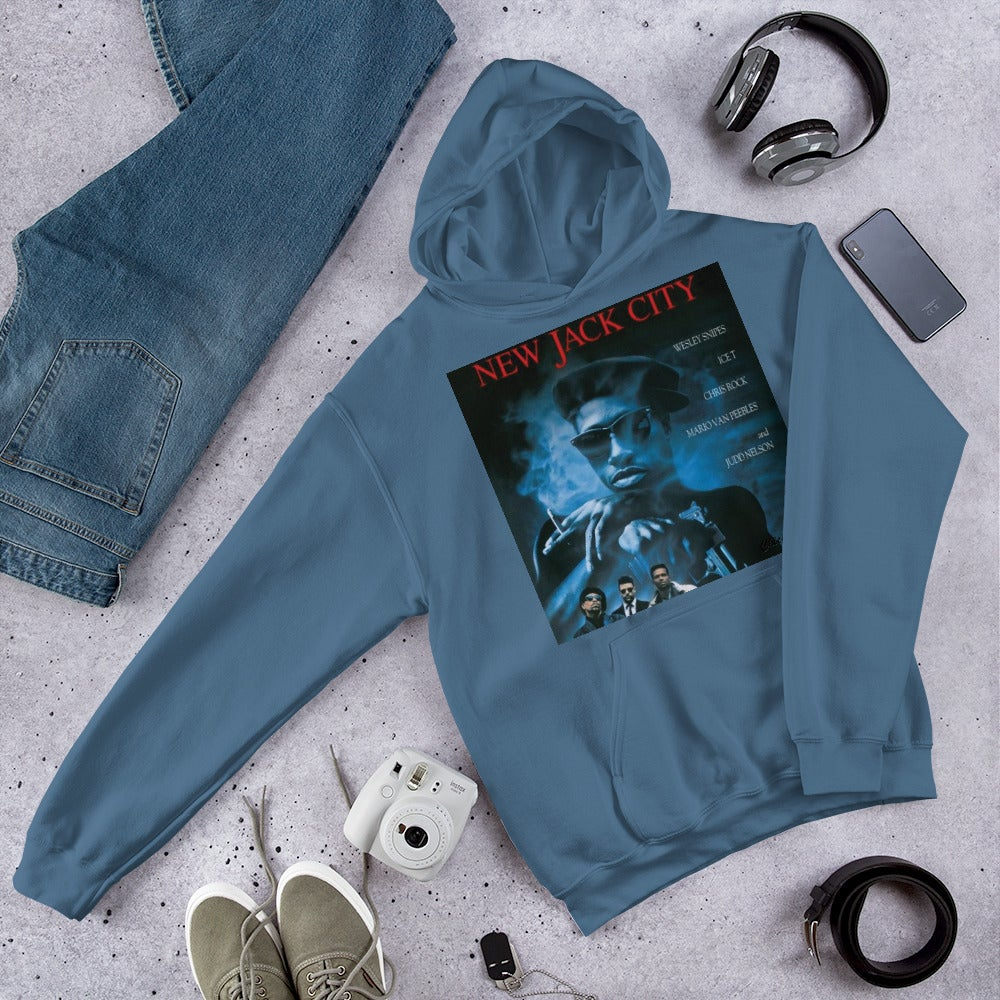 New Jack City Sweatshirt By Chiefers Co. Movie Poster Series