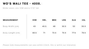 Image of Women's Five Peaks Cotton T-shirt - Indigo