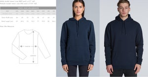 Image of Unisex Pullover Hoodie (summer weight) - Bright Royal