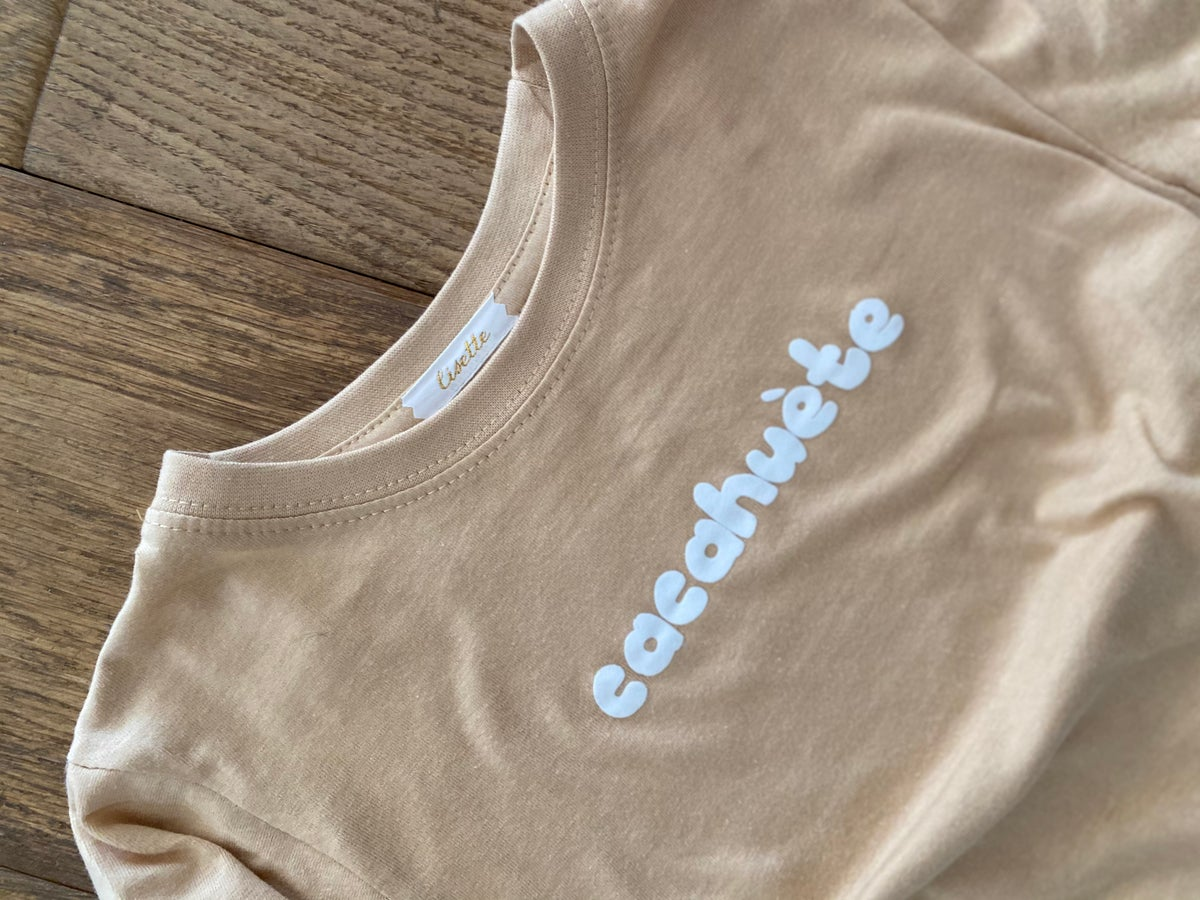 Image of Tee shirt Cacahuète  Camel