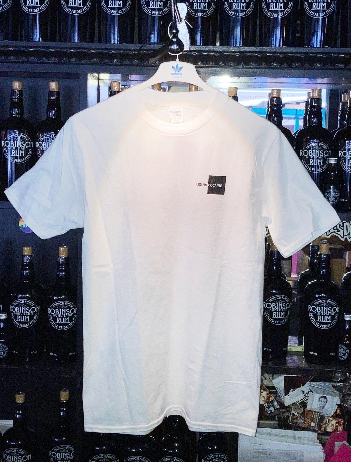 Image of Liquid Cocaine T-Shirt (white)