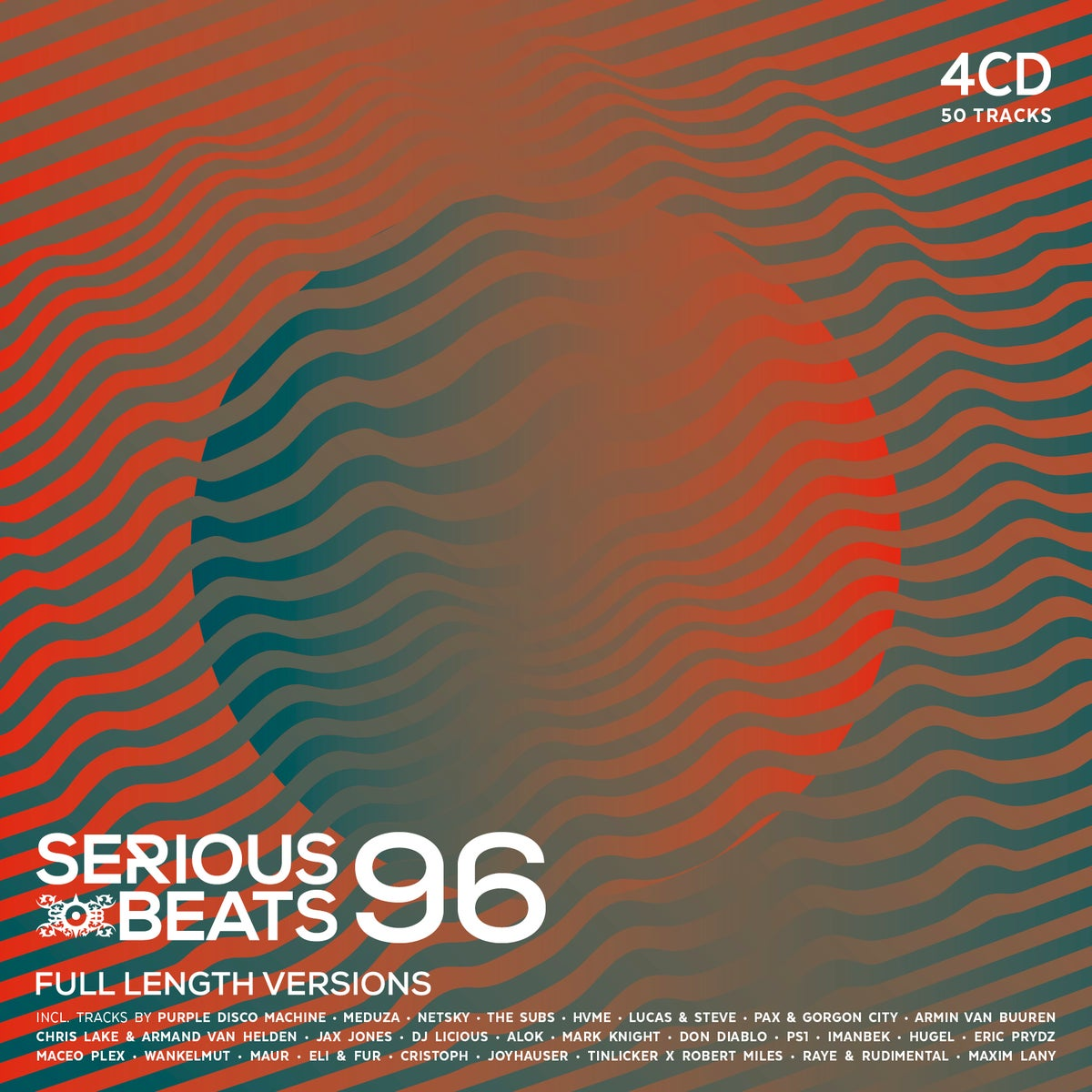 Image of SERIOUS BEATS 96 (4CD)