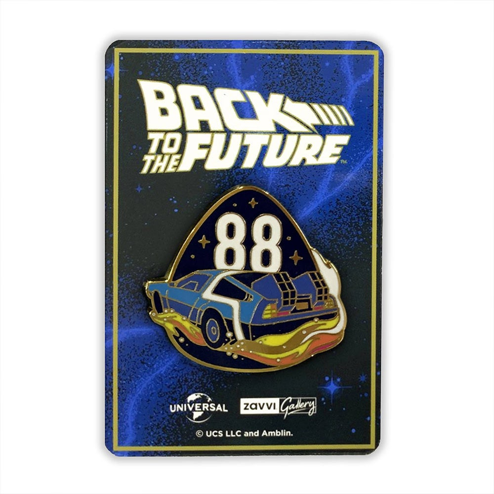 Image of Back To The Future 88 Enamel Pin
