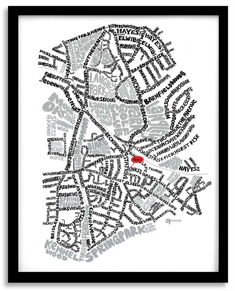 Image of Park Langley BR3 & West Wickham BR4 – SE London Type Map