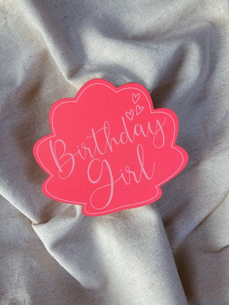 Image of Carte GIRLY (avec enveloppe)