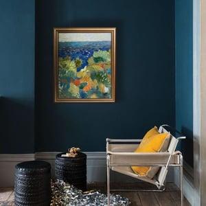 Image of Late 20th Century Painting, Seascape LENA LINDAHL