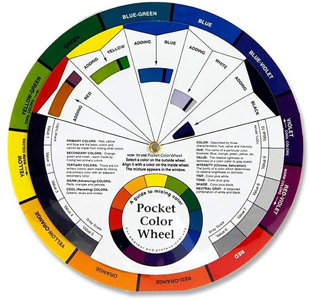 Image of Pocket Colour Wheel