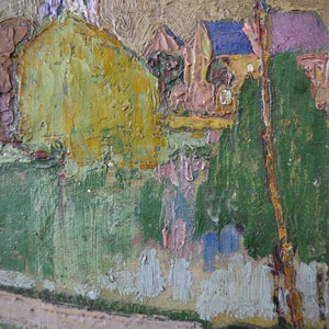 Image of Circa 1920 French Oil Painting, Landscape, A Laurent