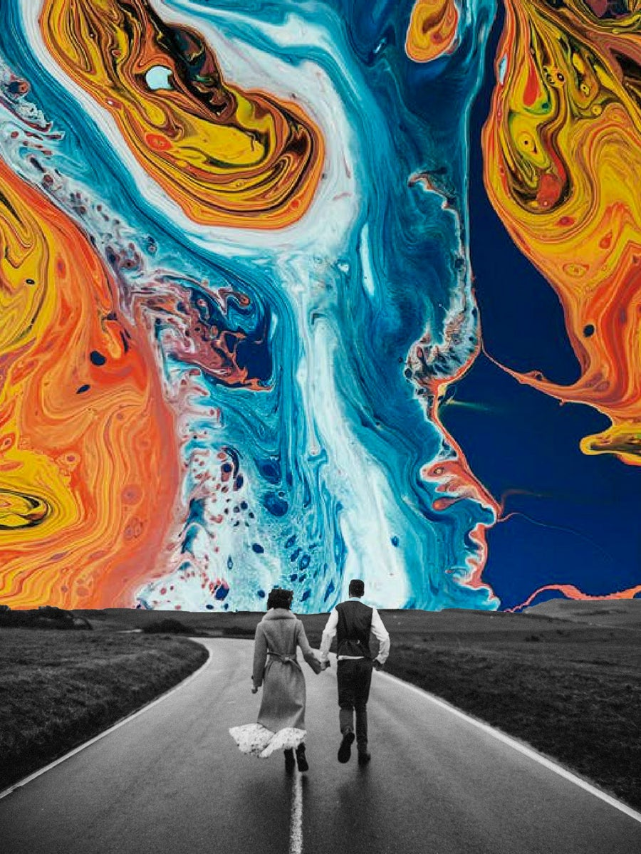 Image of Walking on a Day Dream Poster