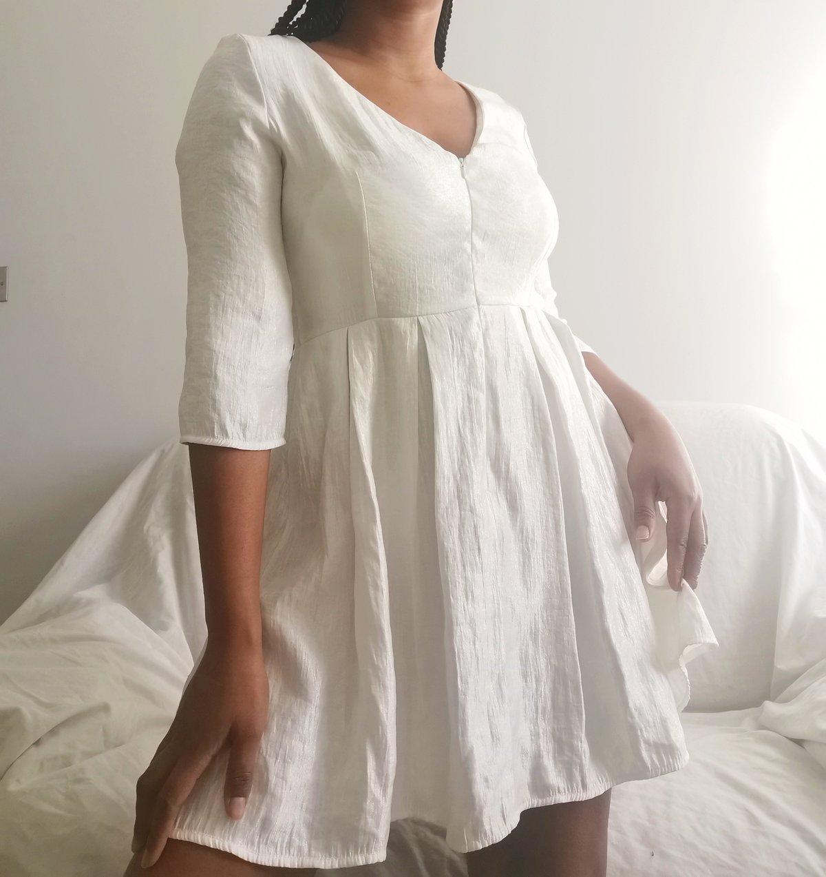 Image of white dress