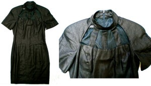 Image of black womens dress size 6.