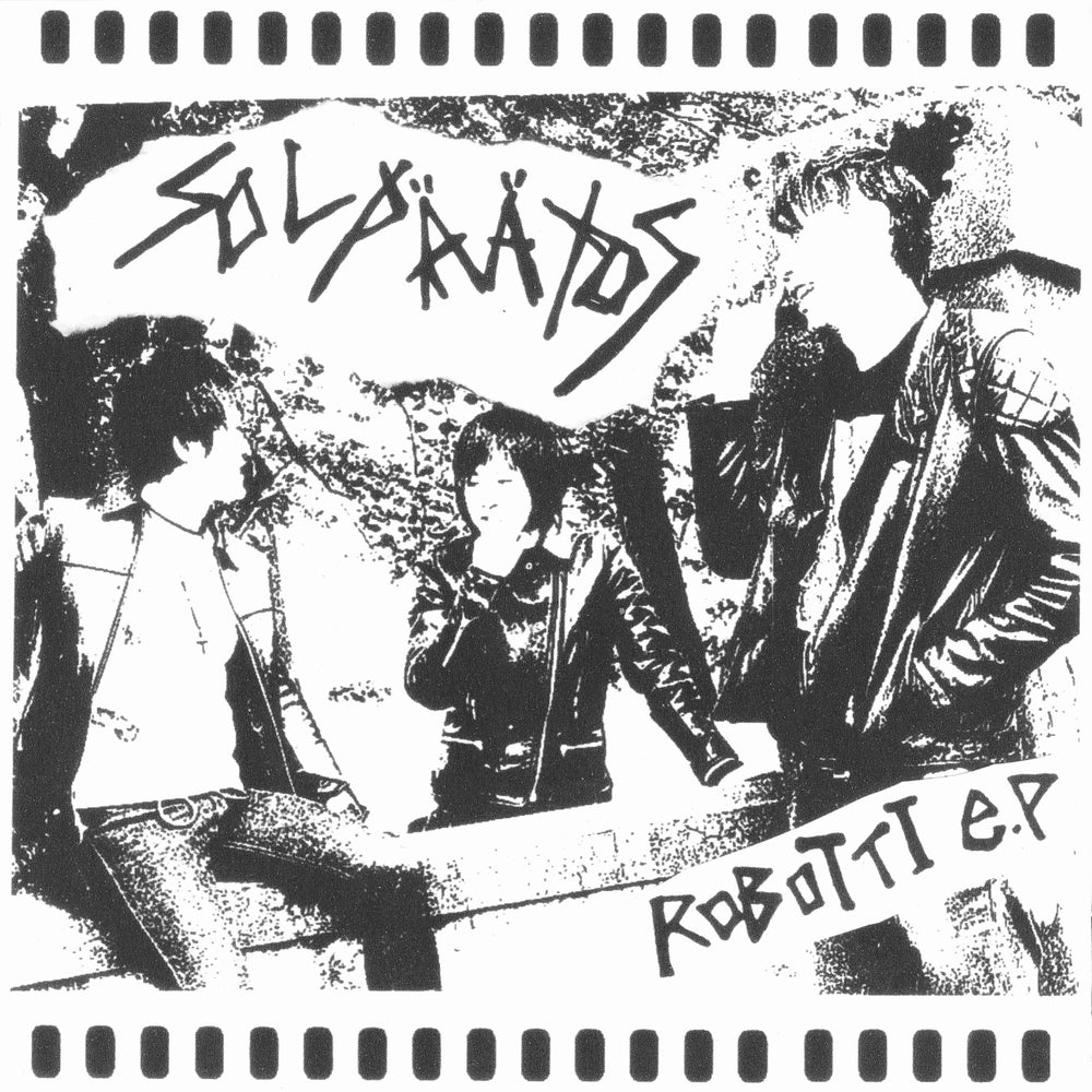 "Image of SOLPAATOS - robotti 7""ep  on Hardcore Survives"