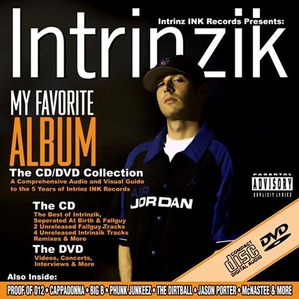 Image of Intrinzik - My Favorite Album CD and DVD