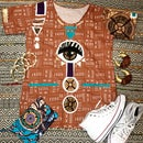 Image 2 of Terra 504 Tunic- NAME YOURSELF- made to order