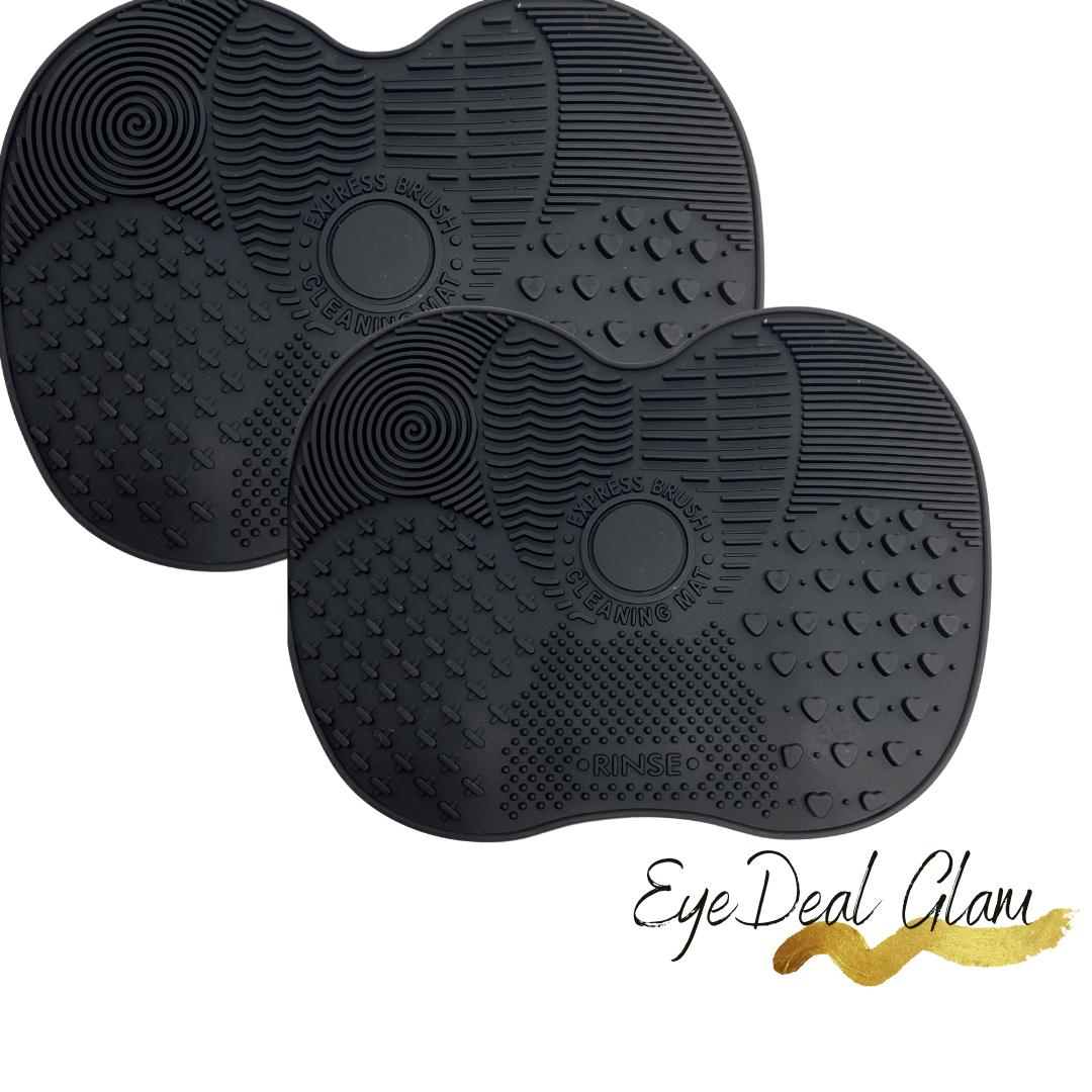 EyedealGlam Makeup Brush cleaning mat.