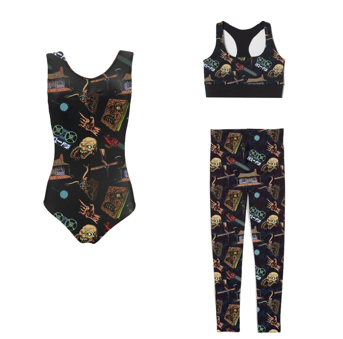 Image of Evil Dead Activewear Limited Edition PREORDER