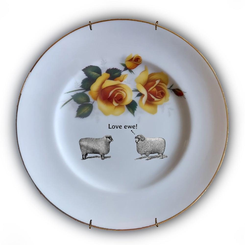 Image of Love Plates - I Love ewe! - (Ref. 26)