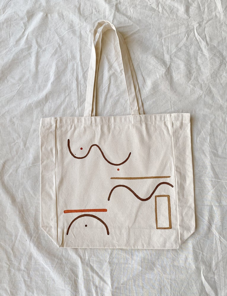 Image of pattern up tote