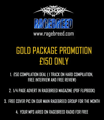Image of RAGEBREED GOLD PACKAGE PROMOTION