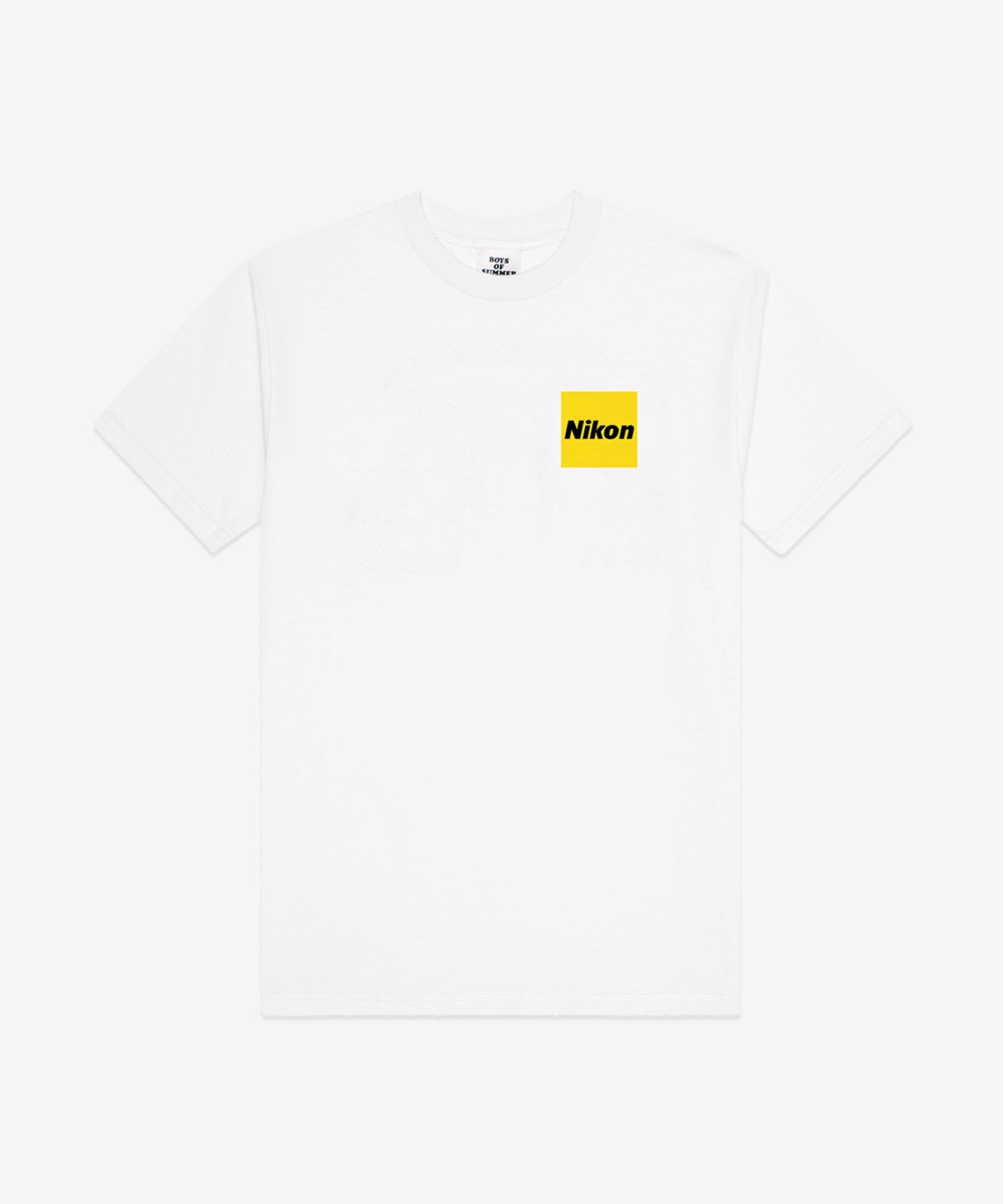 Image of BOYS OF SUMMER_SHOOT THE FOOTY TEE :::WHITE:::