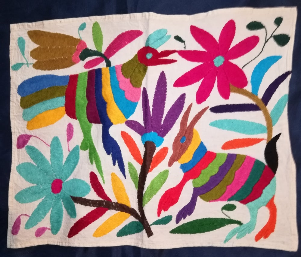Image of Otomi bordados a mano