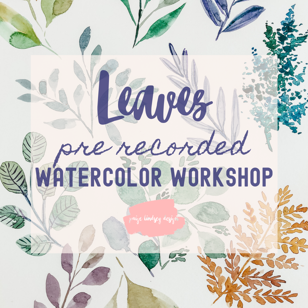 Image of Learn How to Paint Watercolor Leaves!