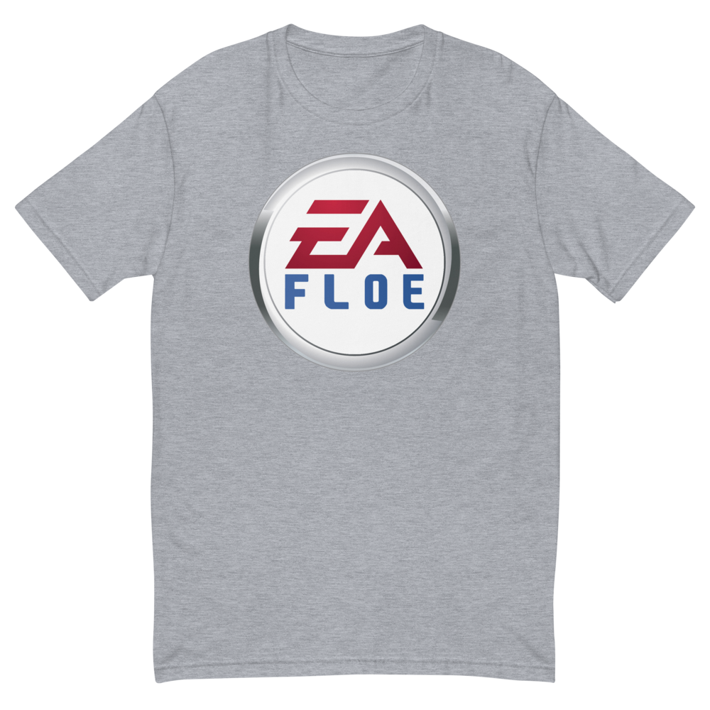 Image of EA Floe Logo Short Sleeve T-Shirt (Heather Grey)