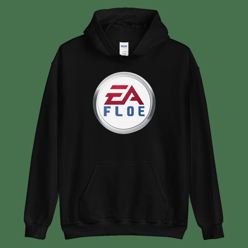 Image of EA Floe Logo Hoodie (Black)