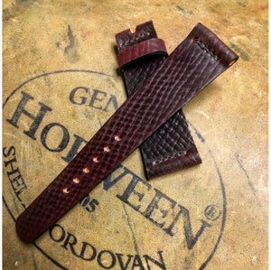 Image of Russian Grain Shell Cordovan- unlined single line stitching
