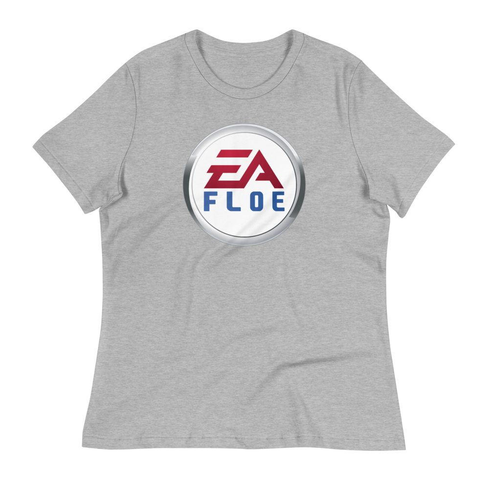 Image of Women's EA Floe Logo Relaxed T-Shirt (Athletic Heather)