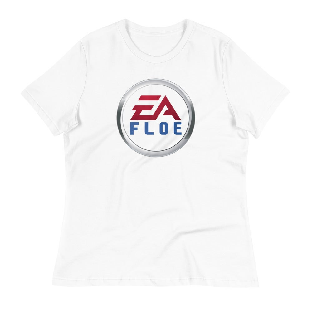 Image of Women's EA Floe Logo Relaxed T-Shirt (White)