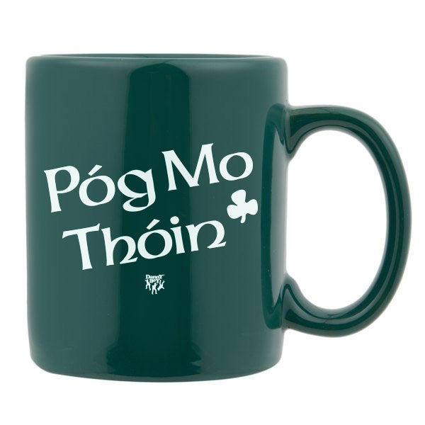 """Image of House of Pain Logo """"Póg Mo Thóin - Kiss My Ass"""" in Irish by Danny Boy O'Connor."""
