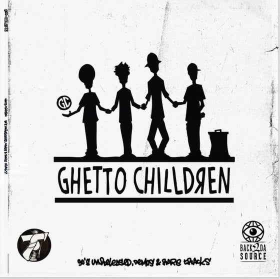 Image of Ghetto Chilldren - 90's Unreleased, Demos & Rare Tracks (2xLP comes with Insert) SOLD OUT
