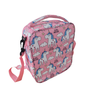 LARGE insulated lunch bag - little unicorn pink