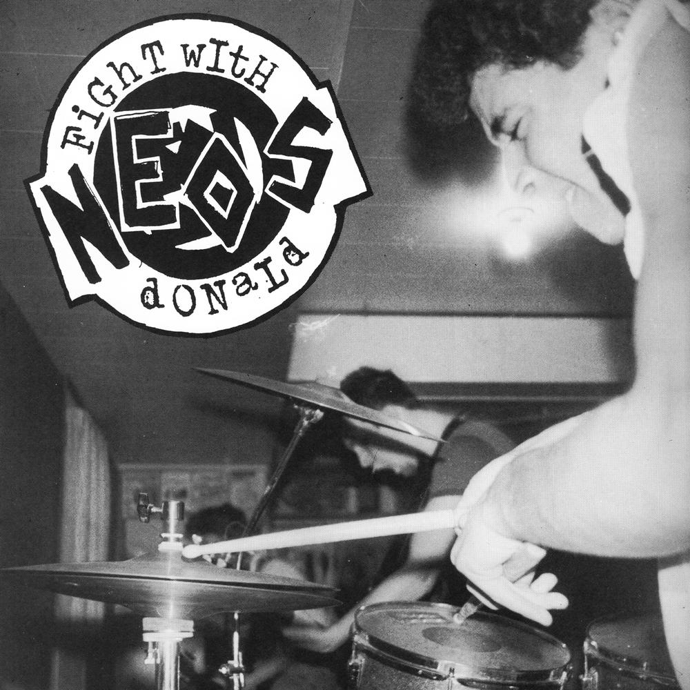 "Image of NEOS - ""FIGHT WITH DONALD"" 7"" EP (1982-83)"