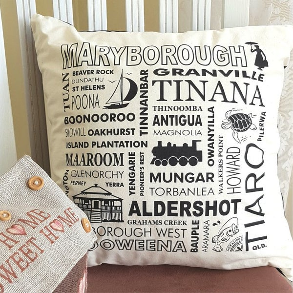 Image of Maryborough (Qld.) Cushion Cover