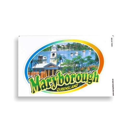 Image of Maryborough (Qld.) Sticker / Car Sticker