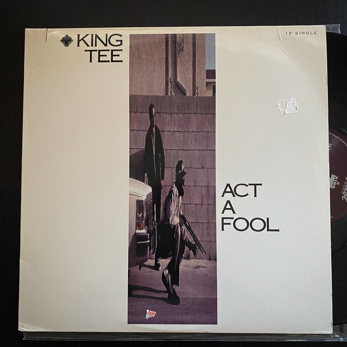 """Image of King Tee """"Act A Fool"""" 12 PROMO"""