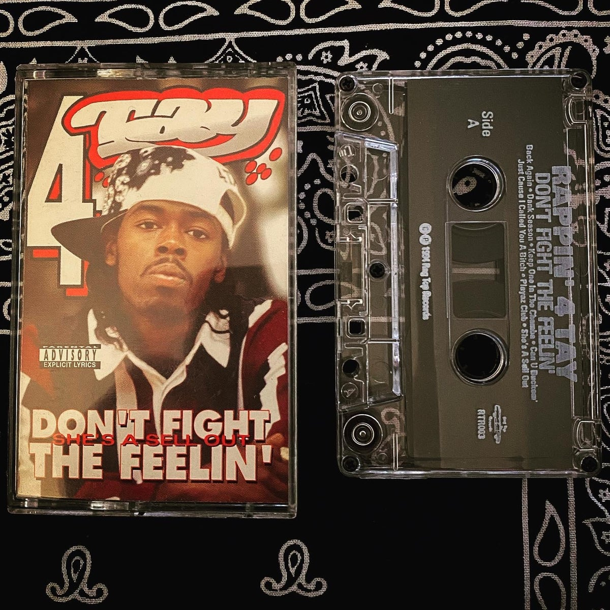 """Image of Rappin 4-tay """"Don't fight the feelin'"""""""