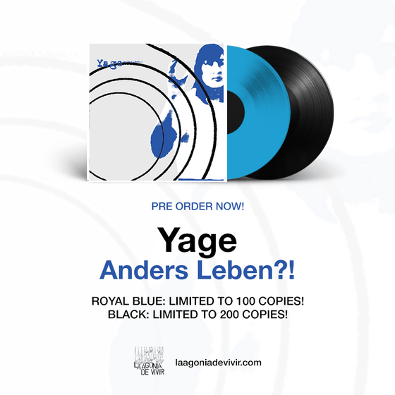 "Image of PRE-ORDER NOW!!! LADV152 - YAGE ""Anders Leben!?"" LP REISSUE"