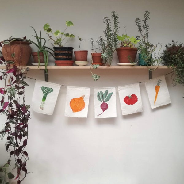 Image of Vegtable Flags