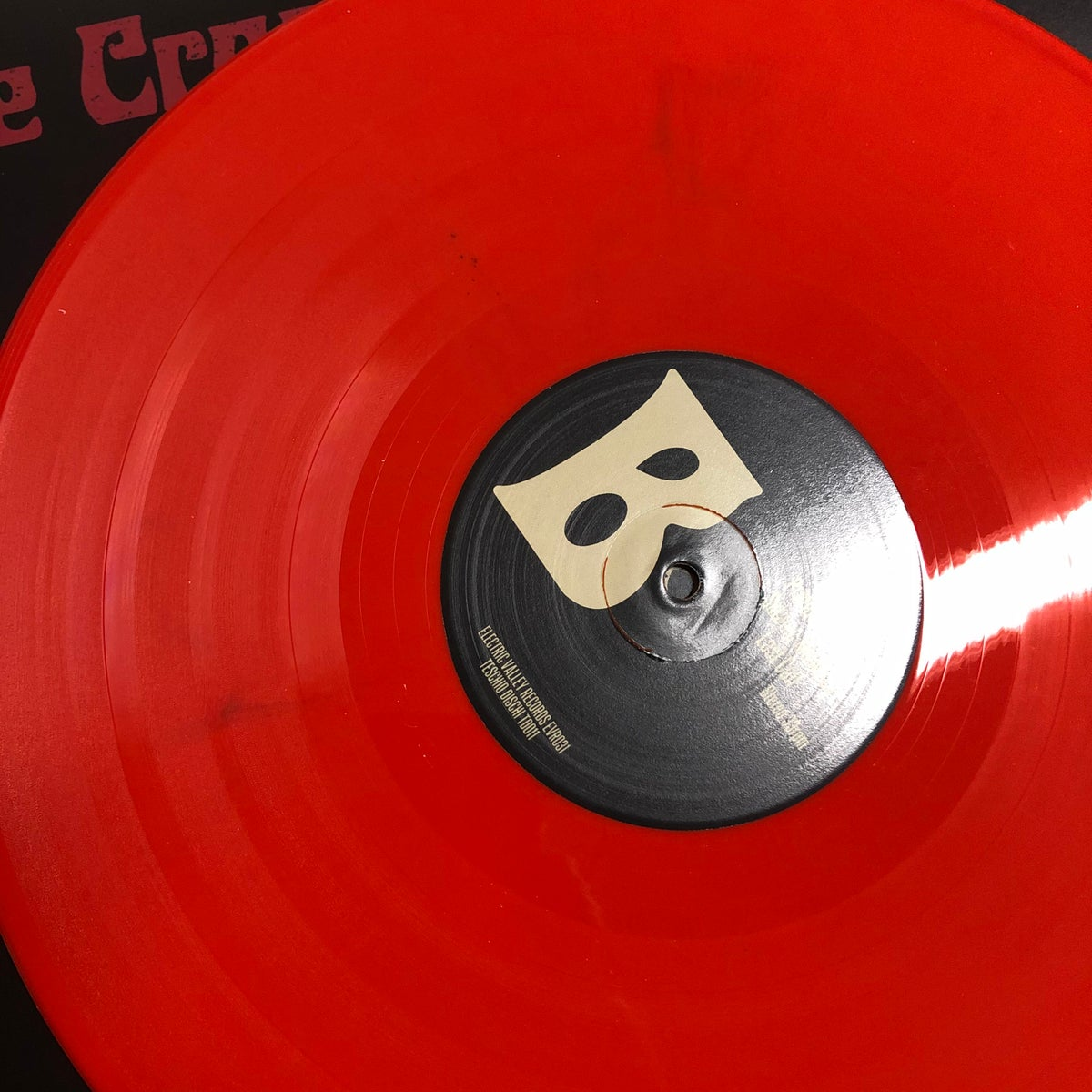"""Image of The Crooked Whispers - Satanic Melodies """"dirty""""Orange Vinyl"""