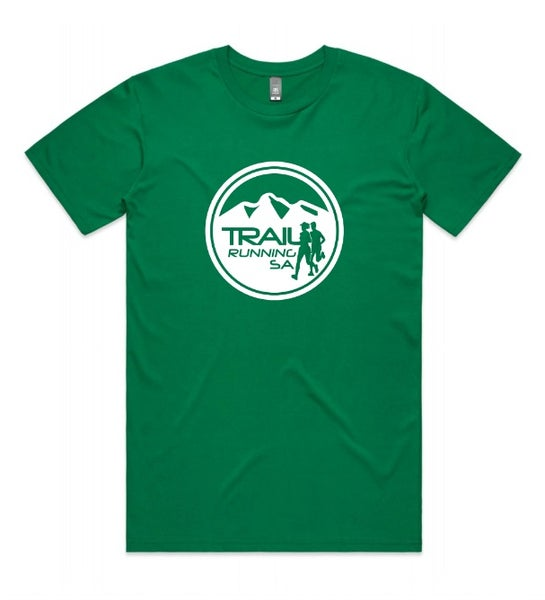 Image of Kids/Youth Round Logo Tee in Green