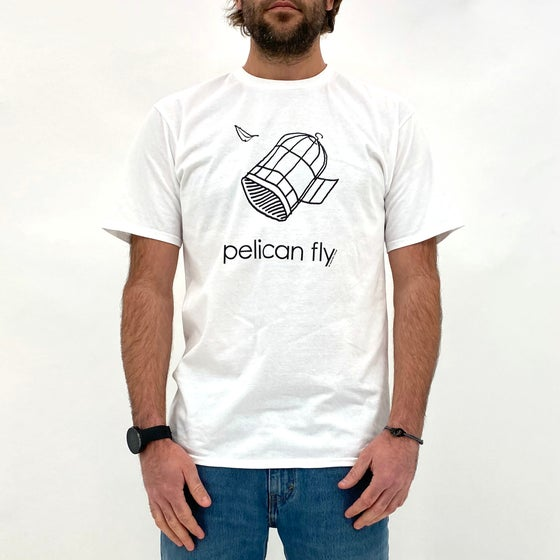 Image of Pelican Fly T-Shirt (Cage Logo Black)