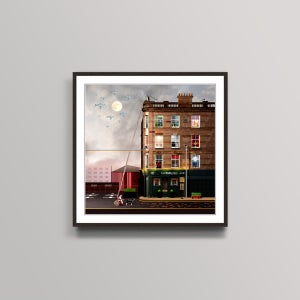 Image of Two Fat Ladies At The Buttery Art Print